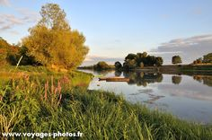 Photo taken in France on the banks of Vienna, near the village of Trogues in Indre et Loire.