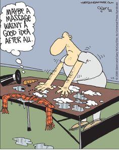 Snowman massage...