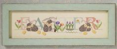 Easter Cross Stitch Pattern - Cricket Collection
