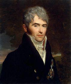 Count Viktor Pavlovich Kochubey (1768-1834) – by François-Pascal-Simon Gérard (1770-1837) – c.1809.