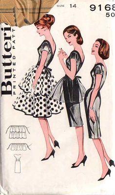 Butterick 9168 - 1 dress 3 ways!