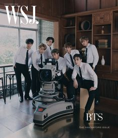 Jhope, Namjoon, Bts Bangtan Boy, Bts Taehyung, Seokjin, Korean Magazine, Wsj Magazine, Foto Bts, Wall Street Journal Magazine