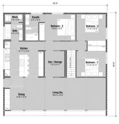 3 BDRM W/ ENSUITE, DEN & STAIRS 40ft Container, Prefab Container Homes, Container House Plans, Shipping Container Homes, Prefab Homes, Modular Homes, Container Houses, Shipping Containers, Home Design Floor Plans
