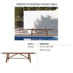 Henry Hall Designs modern outdoor furniture for garden&patio, including sustainable teak and woven classic designs