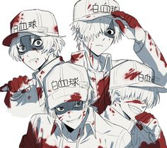 Zerochan has 27 Neutrophil anime images, fanart, and many more in its gallery. Neutrophil is a character from Hataraku Saibou. Me Me Me Anime, Anime Love, Anime Guys, Manga Anime, Anime Art, Digimon, Totoro, Neko, White Blood Cells