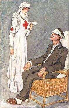 Nurse Drawing, Ww1 Posters, Radiology Humor, Nurse Art, Vintage Nurse, Postcard Art, American Red Cross, War Photography, Call Art