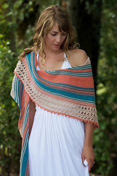 """Ravelry: Beachcomber pattern by Chelsea Berkompas Until August 22nd, use the coupon code: """"beachknitting"""" and get $1 off any of the four patterns in the Sidewalk to Seashore collection, or $1 off the Sidewalk to Seashore ebook! Enjoy!"""