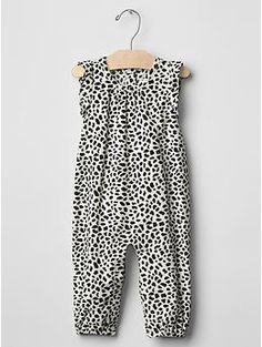 Cord animal print one-piece Animal Print One Piece d5d5099ae216