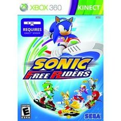 NEW Sonic Free Riders X360 Videogame Software * Check this awesome product by going to the link at the image. Note:It is Affiliate Link to Amazon.