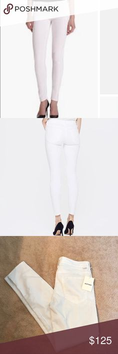 Mother the looker white jeans NWT Brand new never worn MOTHER Jeans Skinny