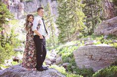 Mountain engagements. Utah wedding photographer