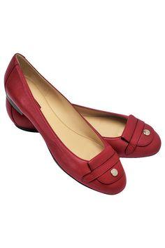 fall 2012, Longchamp, shoes, flats, red