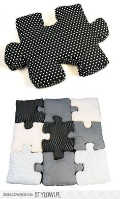Puzzle pillows