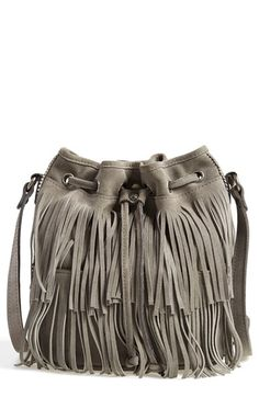Patricia Nash 'Bronte' Fringe Bucket Bag available at #Nordstrom