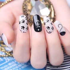 Cat Pattern Hot Design Nail Wraps Manicure Decor Tools Nail Sticker Decals Nails Sticker Design Art Decorations Full Cover Patch Nail Decals Wall Decor Stickers From Williamxiang, $0.53  Dhgate.Com