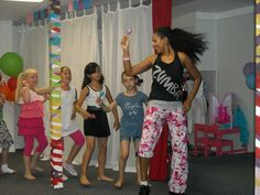 Zumba Party with Zumba Extraordinaire Sabrina Dummett
