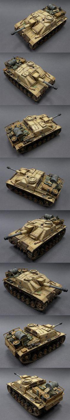 Sturmhaubitze 42 Ausf.G 1/35 Scale Model