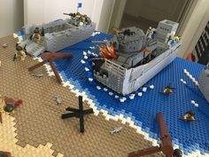 D-Day Omaha Beach, Normandy | by Lego Admiral