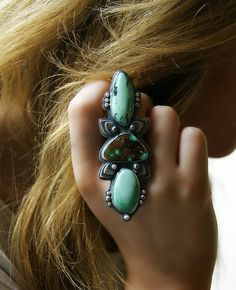 The Way of the Sky - Turquoise Sterling Silver