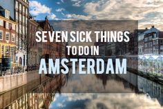 There's so much to do in #Amsterdam! I had so much fun in the city and wrote this post to provide you with ideas on things to do so you don't miss out on anything.