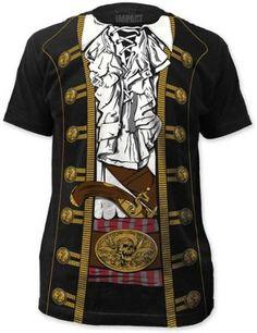 Pirate  Men's Costume Tee (Large)
