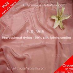 http://www.silkfabricwholesale.com/12mm-silk-crepe-de-chine-fabric-deep-pink.html  F.D. silk most professional 12mm silk crepe de chine fabric-deep pink supplier.