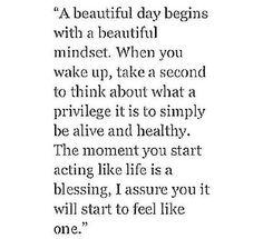 Beautiful mindset
