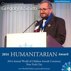 Gregory John Smith, 2014 Humanitarian Award
