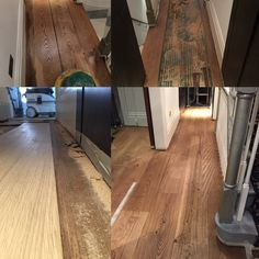 Oak floor repair undertaken due to flood. Removal of damaged boards. New boards fitted. Floor sanded, filled, 1coat of antique oak osmo oil and 1 coat of osmo clear satin oil