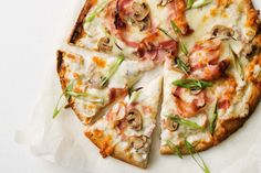 This easy luxe pizza is ready in a flash.