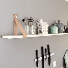 The Nordic Mood: Køkken-Update // DIY hylde