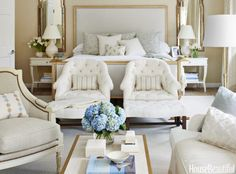 Café Design | Blue and White Forever - Design by Mark D. Sikes