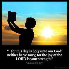Imagem inspirada por Neemias 8:10