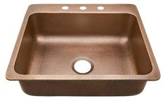 SINKOLOGY Rosa Drop in Copper Sink 25 in. Single Bowl Copper Kitchen Sink in Antique - The Home Depot Rosa Drop in Copper Sink 25 in. Single Bowl Copper Kitchen Sink in Antique Copper Always aspired to learn how to .