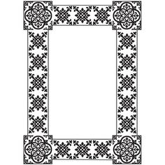 Tangier - Black and White Dry Erase Board Decal