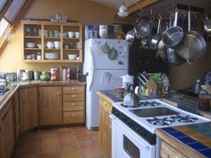 Another Earthship Kitchen. You Can Build Your Ship As Small Or As Large As You Like.