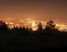 Such a big city for such a small town girl♥ But this is my town, this is my life :) Eugene, Oregon