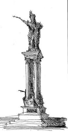 Patriotism Statue - Galveston, TX | Flickr: Intercambio de fotos