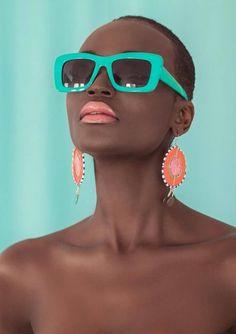 Model Miriam Odemba