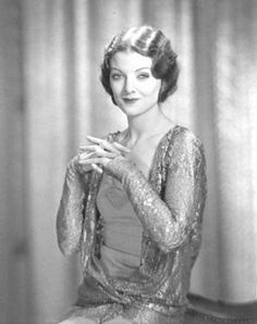 myrna loy hatching a plot