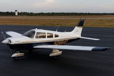 1979 Piper Warrior. The plane I'm going to do my first solo in!!