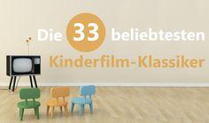 Es gibt unzählige Kinderfilme, die unsere Kleinen in den Bann ziehen. Hier sind die 33 beliebtesten Klassiker, die auch heute noch überzeugen.