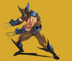 Wolverine by Michael O'Hare