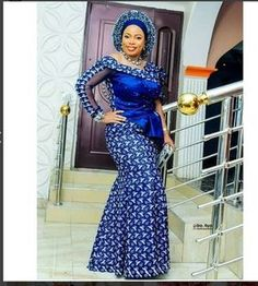 Top 35 Ankara dress style you should try this Year, if you are ailing of repeating the dresses you a. African Lace Dresses, Ankara Dress Styles, Kente Styles, Latest African Fashion Dresses, African Inspired Fashion, African Dresses For Women, African Print Fashion, African Attire, African Wear