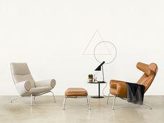 Erik Jørgensen Eyes Lounge Wood stol – Scandinavian Office as