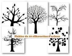 MATERNELLE-ARTS VISUELS-AUTOMNE-l'arbre aux confettis