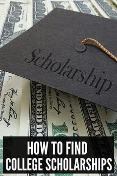 How to Find College Scholarships.   A must read for any parent with a college student looking to pay for college with fewer student loans.