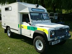 Land Rover One Two Seven Ambulance