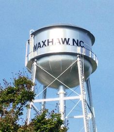 WATER TOWER IN WAXHAW