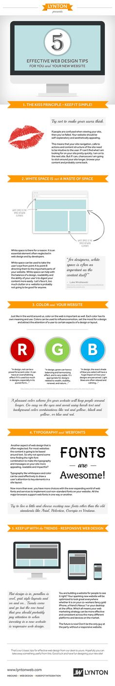 5 Effective Inbound Web Design Tips for You and Your New Website image 5 effective web design tips image 4